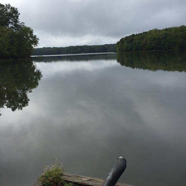 Burk Lake.