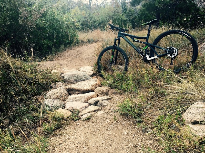 A nice section on Boulder Run where you can send it.