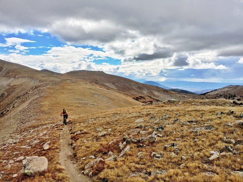 Big views on Canyon Creek Trail.