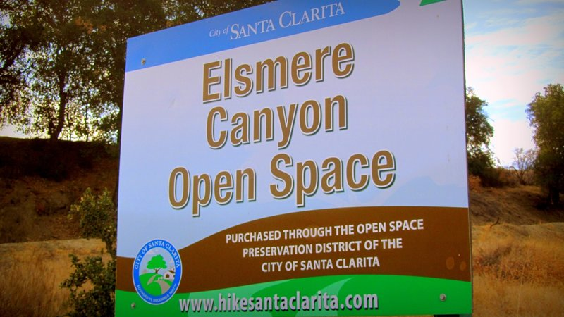 Elsmere Canyon Trail.
