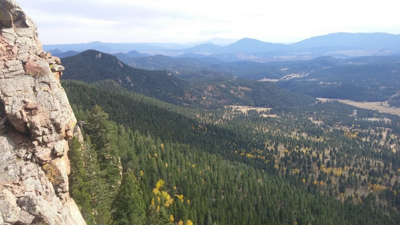 Pikes Peak Overlook.