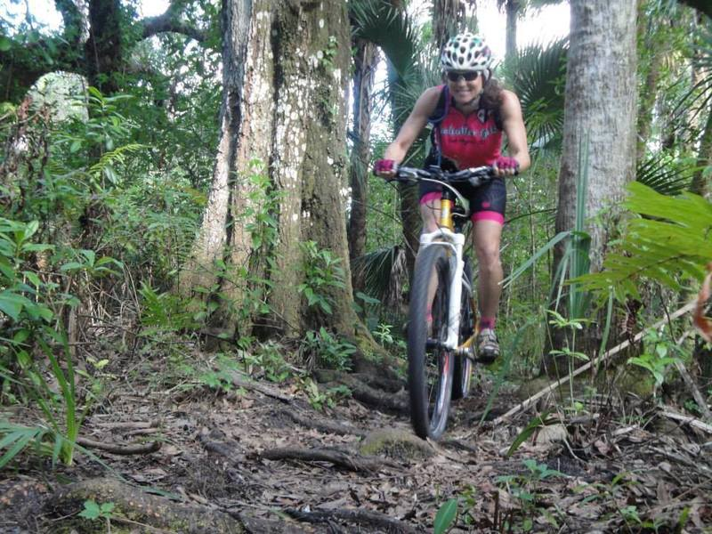 Pepper Ranch Preserve has 4.5 miles of bike trails, created and maintained by the Mudcutters biking group from Ft. Myers, FL.