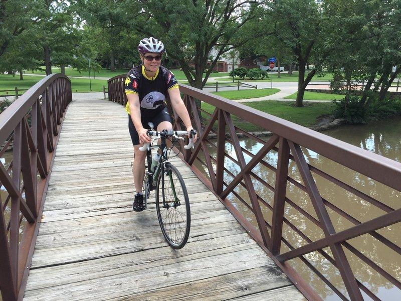 Bridge over muddy water. :D