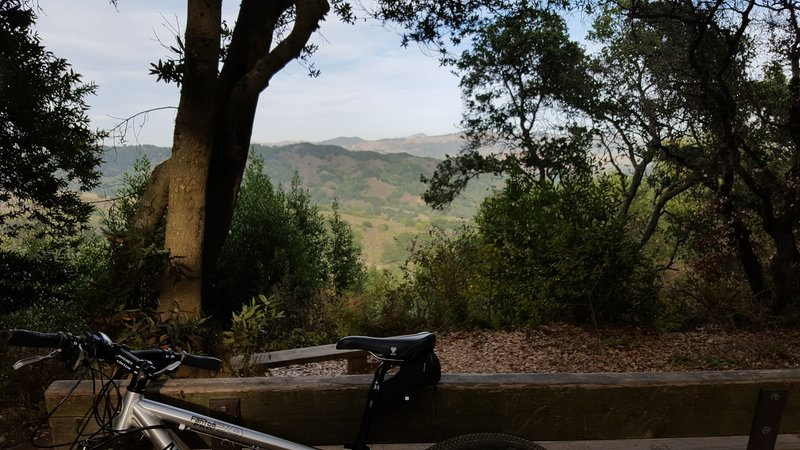 MacDonald Trail Viewpoint.