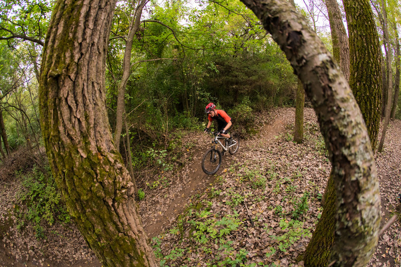 A fun series of g-outs on Loop 4 at Raceway Woods.