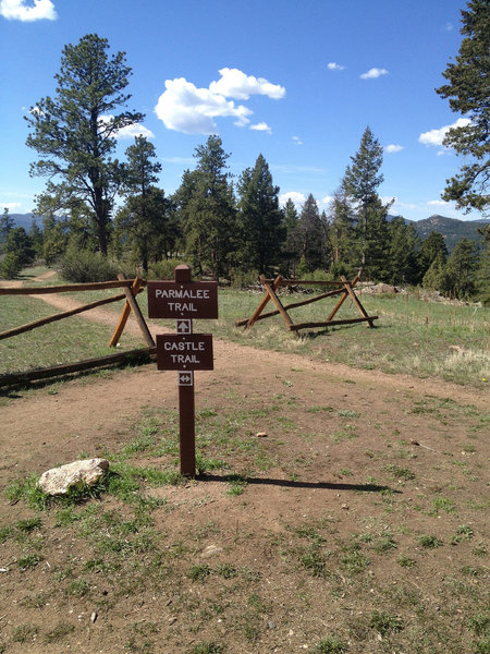 Looking to extend your loop with more singletrack? Take this turn onto the Parmalee trail.