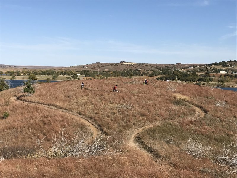 """More of """"Broke Bike Mountain"""". Great views up there, don't spend your whole time trying to get a PR."""