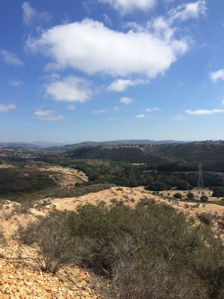 View point of PQ Canyon.