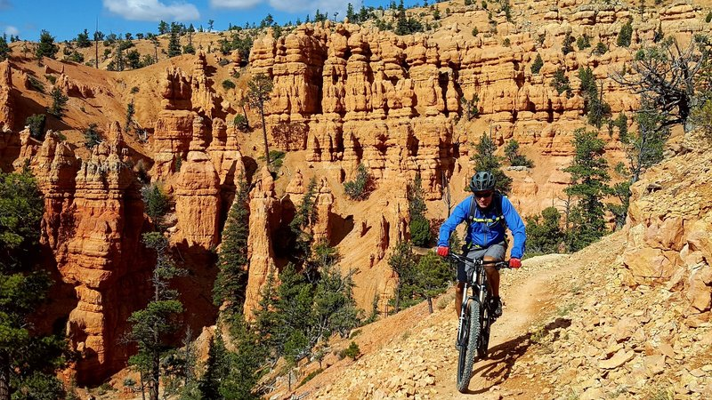 Thunder Mountain Trail near Bryce Canyon, Utah.