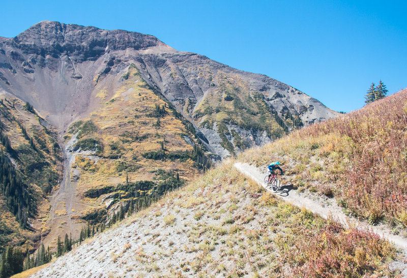 The fall colors in Crested Butte were amazing well into October this year - especially on the 401 Trail!