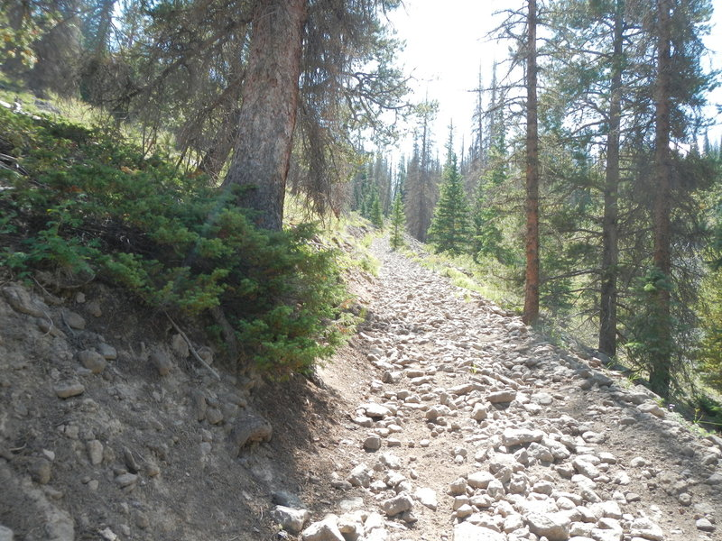 It's steeper than it looks!