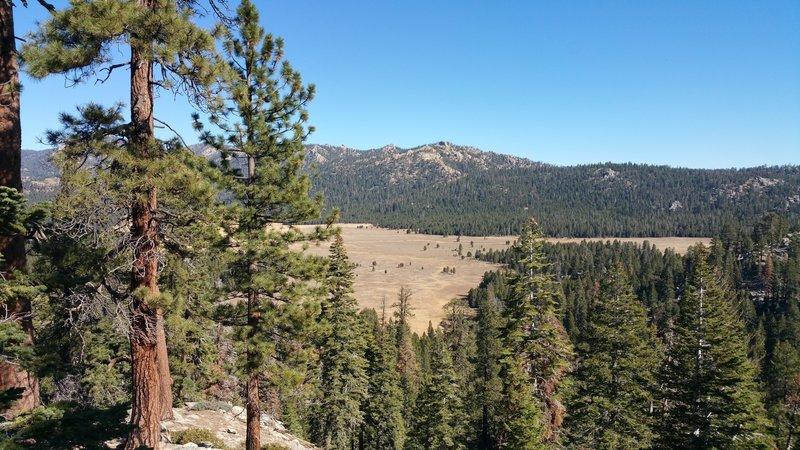 Leaving Big Meadow fire road climb