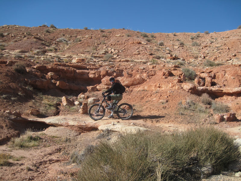 Love riding the rock.