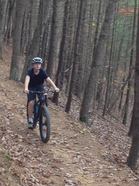 Fun with the kids on Bear Bottom Trail. Ride clockwise for best ride