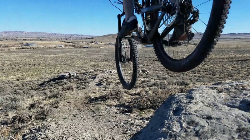 Lena's is a good trail to push your downhill nerve.