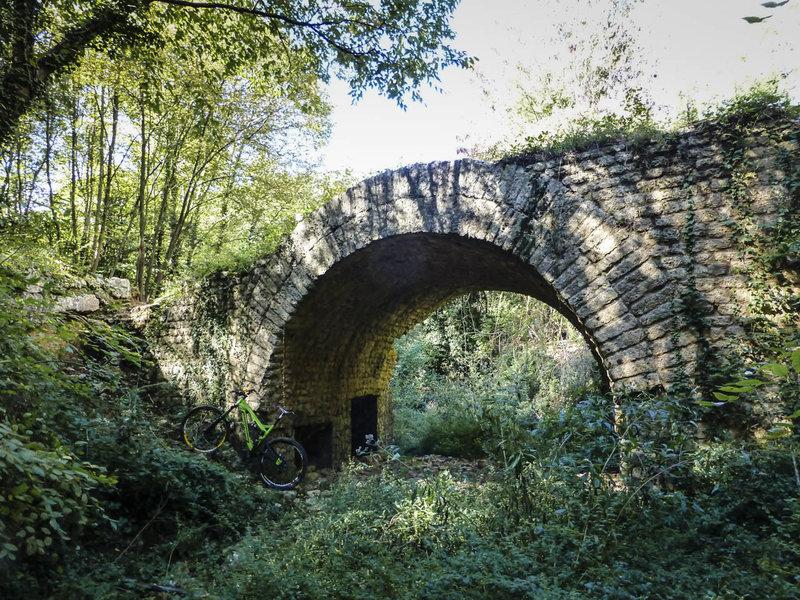 The third Roman bridge - Ponte delle Voze.