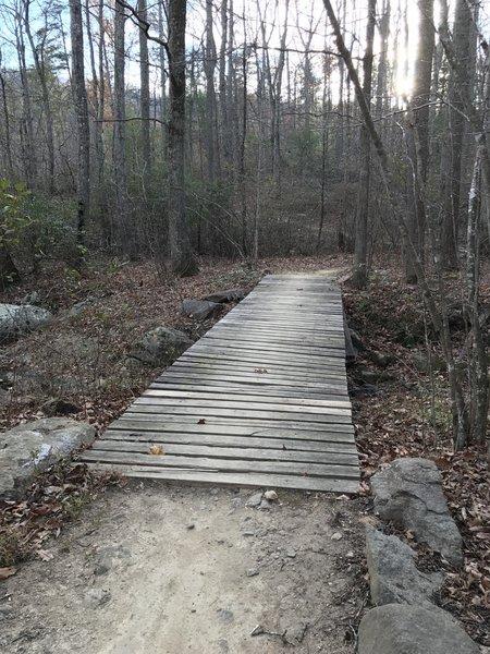 First bridge crossing Chelsea Creek