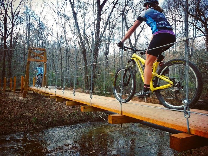 Cub Creek Suspension Bridge