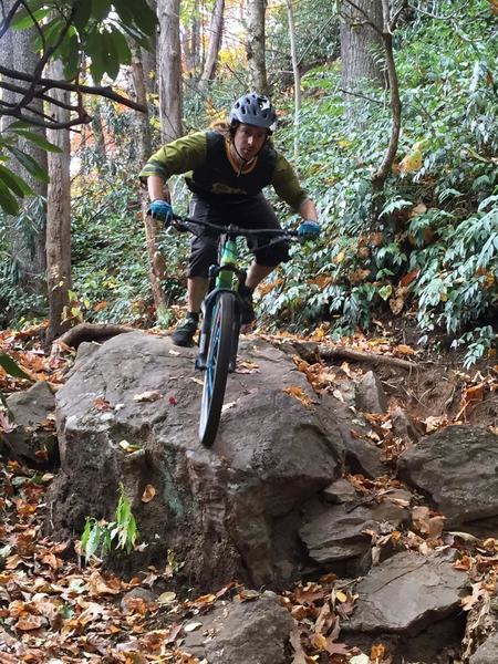 Tim Koerber Ripper, photographer and follow cam filmer for this Trail Boss episode, showing me how it's done!