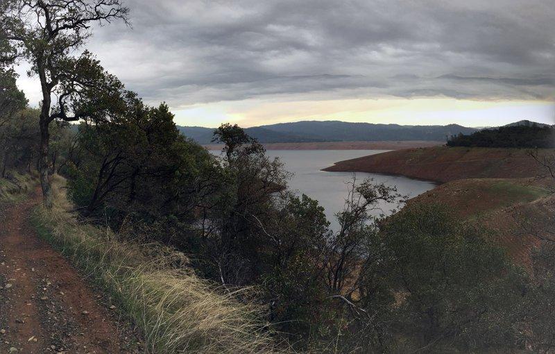 Sweet view of lake.