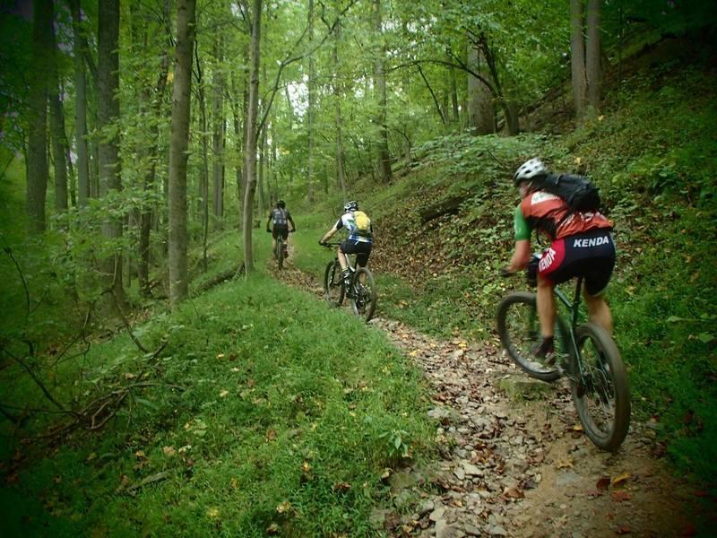 Climbing a rolling turn in Daniels