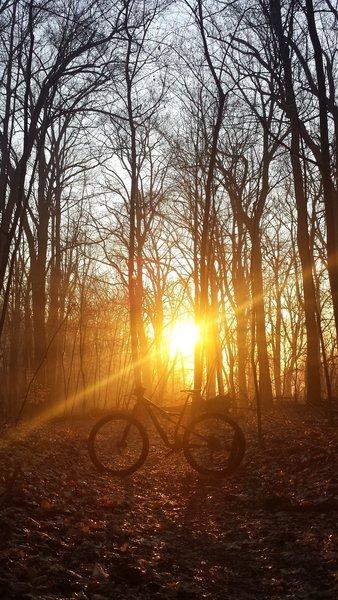 Sunrise on Morning Choice, Patapsco Valley State Park