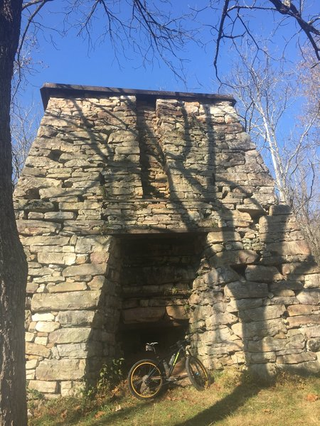 The 180 year old Catherine Furnace.