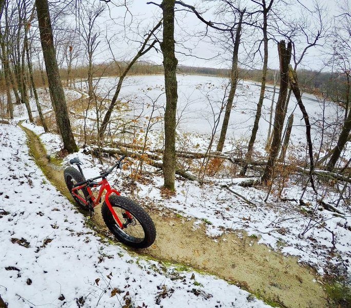 Early winter is the perfect time for a fat bike ride.