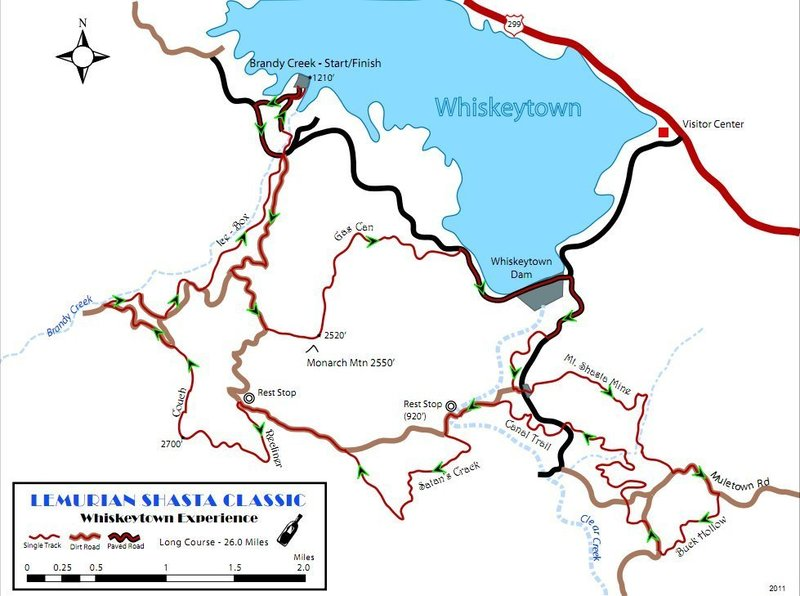 Trail Map for alternate reference