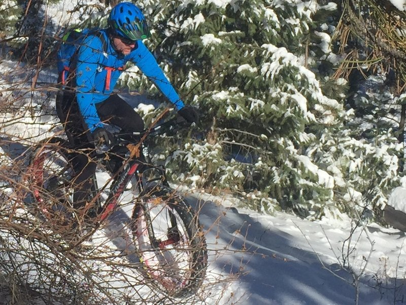 Lair O' the Bear can make for a fantastic fat-bike ride.
