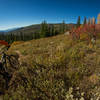 Fall riding is the best in Steamboat Springs and so is the backcountry. Dropping from the Continental Divide Trail.