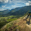 Loose corners and great views make this trail a blast!