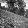 A rider sends the steeps on Star Wars.
