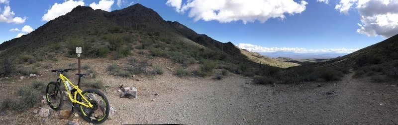 Bask in the scenic views from the top of the pass as you take a break and prepare for your next move!