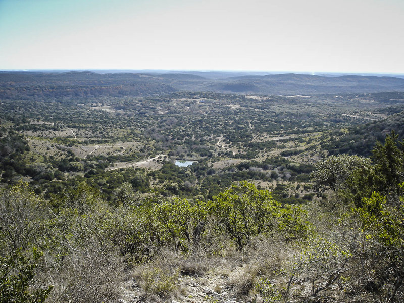 Somewhere out there is nowhere, just what you can expect to find at Hill Country State Natural Area.