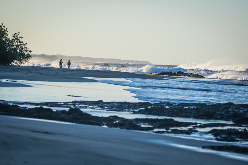 Beach cruises and crashing waves are pretty hard to beat.