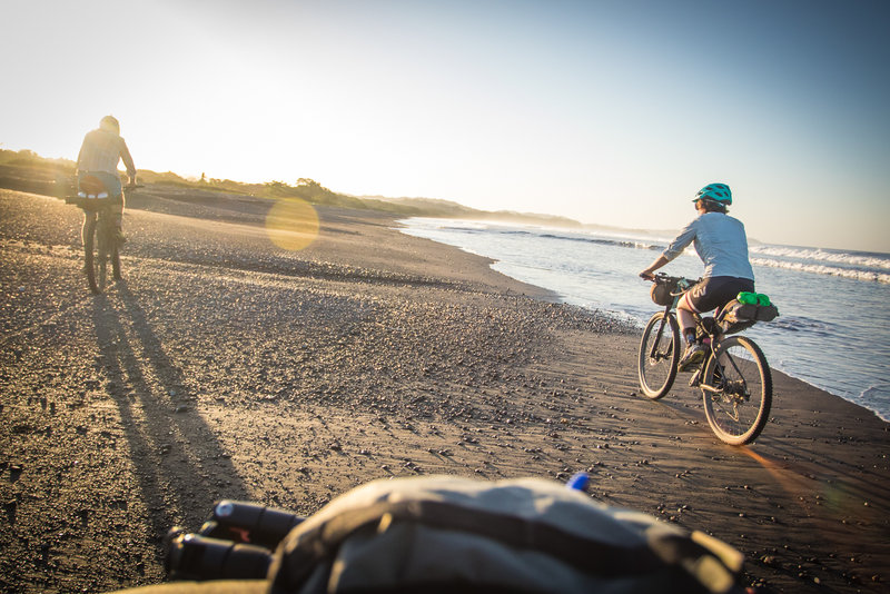 Start your day with a sunrise beach cruise.