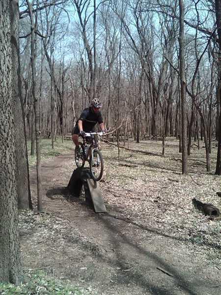 "TJ attempts the ""Tire Challenge""."