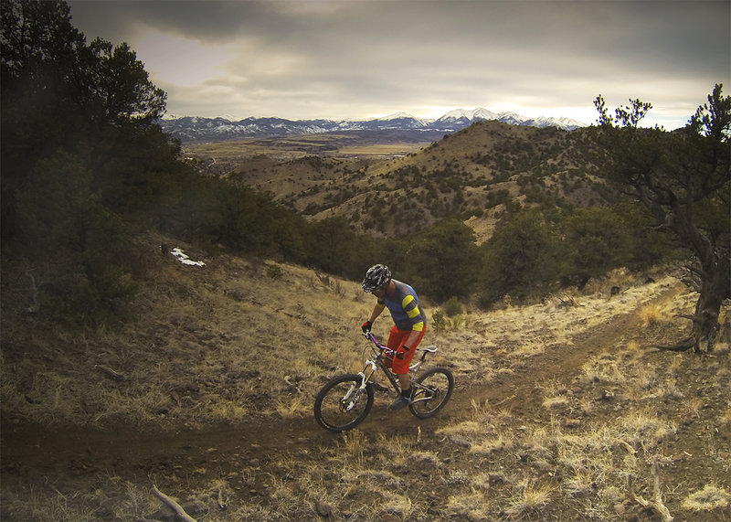 Prospecting some singletrack is always a good time.