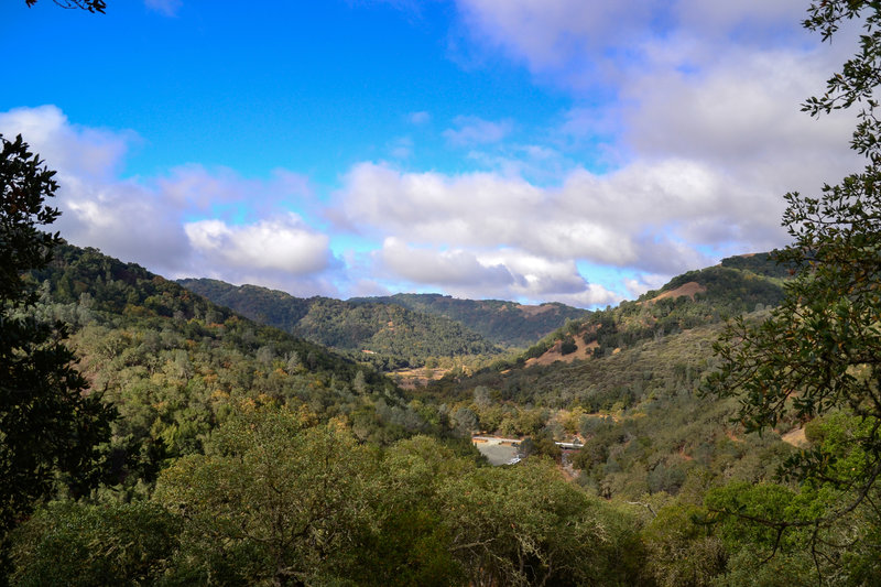 Look out across the hills for spectacular views from the Jim Donnelly Trail.