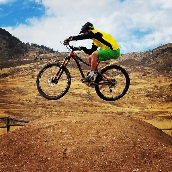 Playing around in the bike area by East Valley Trail can be loads of fun!
