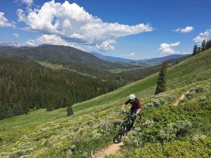 Segment 6 Shuttle Kenosha Pass To Gold Hill Breckenridge Mountain Bike Trail Jefferson Colorado