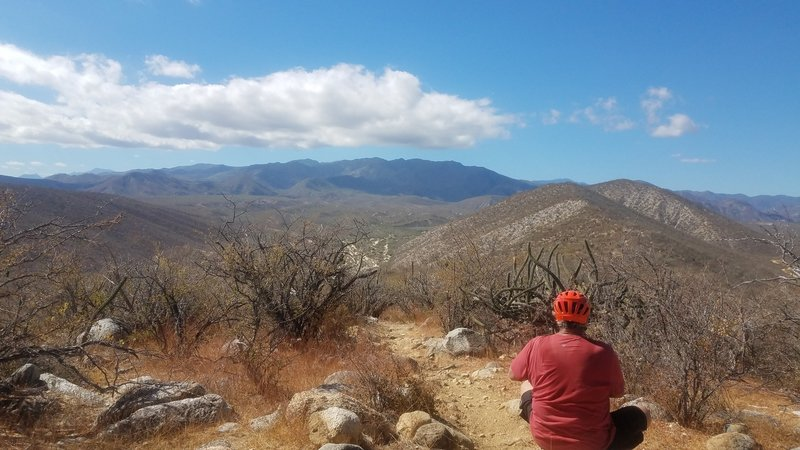 Enjoy awesome views from the trails around Los Barriles!