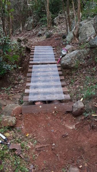 This bridge on Carreta is well built and helps you keep your flow.
