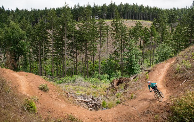 a3ee31cd Post Canyon Hot Lap Mountain Bike Trail, Hood River, Oregon