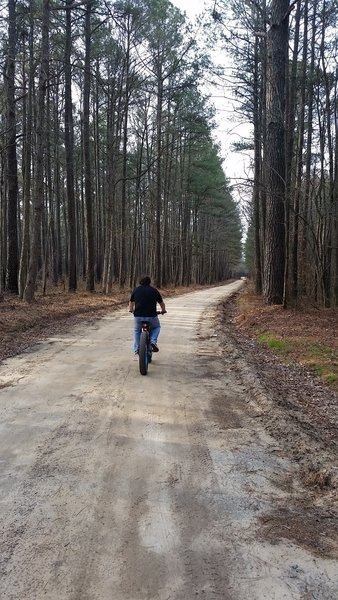 Corner House Road offers long, smooth, dirt doubletrack.