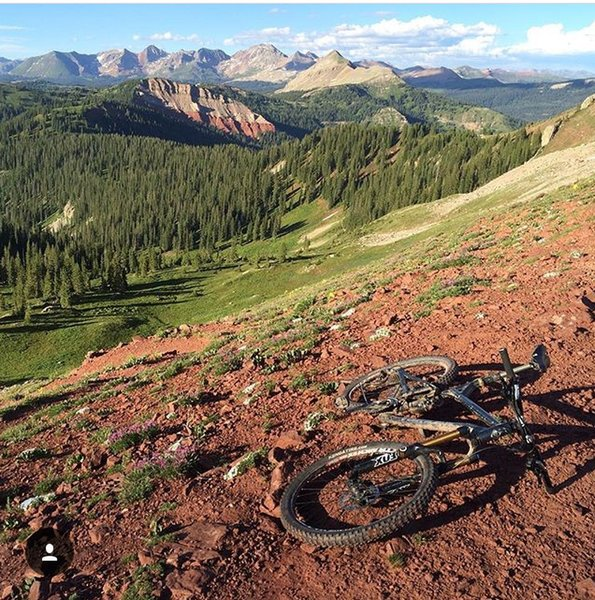 Blackhawk Pass is sublime in late July.