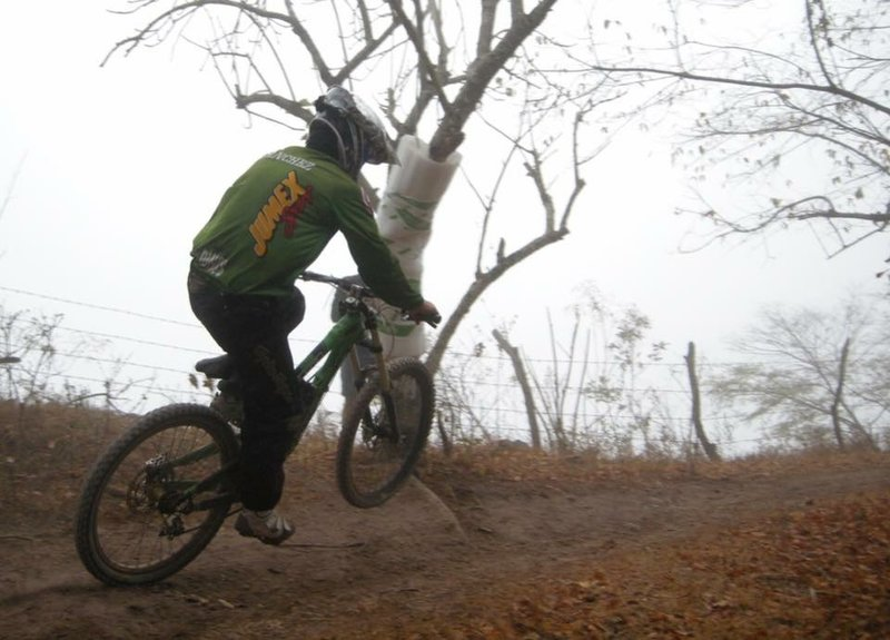 Foggy mornings and hard pack make for some fast conditions.