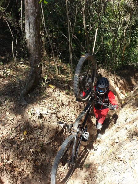 Tough going on Salto 3000 means you'll probably hike-a-bike for at least a little ways.