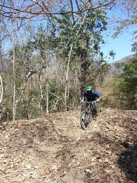 Saltos 3000 has some tough climbs throughout the trail.